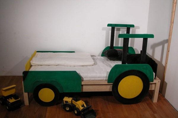 Traktorbett
